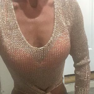 ✨ 🔥 Rose Gold Chainmail Top ✨ 🔥